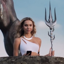 How is MZ's marketing campaign with Alexis Ren working out for Final Fantasy XV: A New Empire?