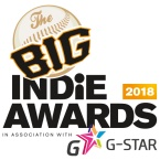 The Big Indie Awards 2018 in association with G-STAR and Jagex Partners
