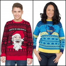 PewDiePie and Ninja release festive merch lines, including 'ugly' Christmas sweaters