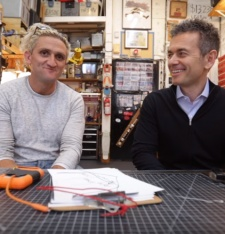 YouTuber Casey Neistat interviews YouTube head of business Robert Kyncl