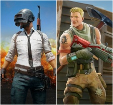 Fortnite versus Playerunknown's Battlegrounds: Which battle royale game is racking up the most views online?